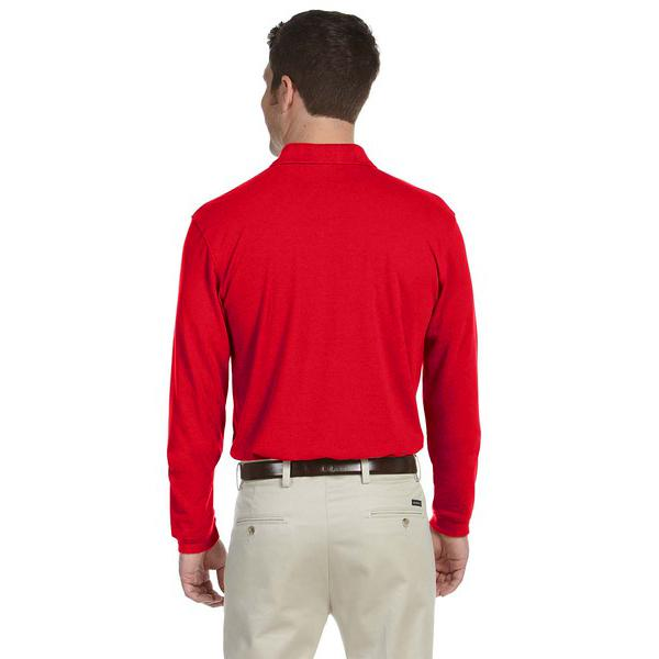 Red Polo Sweatshirt