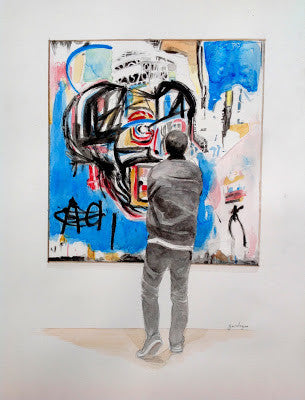Observing Basquiat