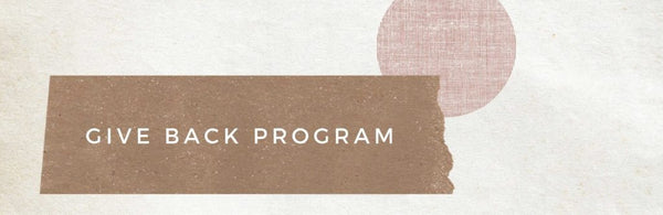 Give Back Program by Chocolate and Steel