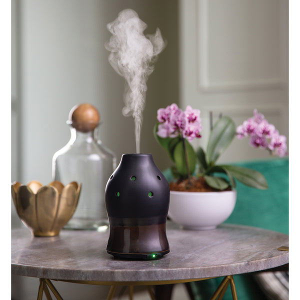 Essential Oil Diffuser - Black Dipped