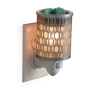 Pluggable Fragrance Warmer - Filigree