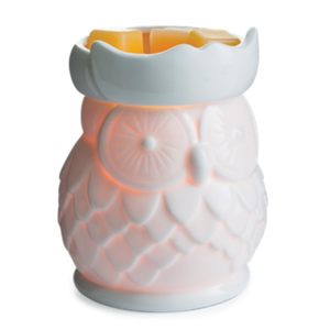Electric Fragrance Warmer - White Owl
