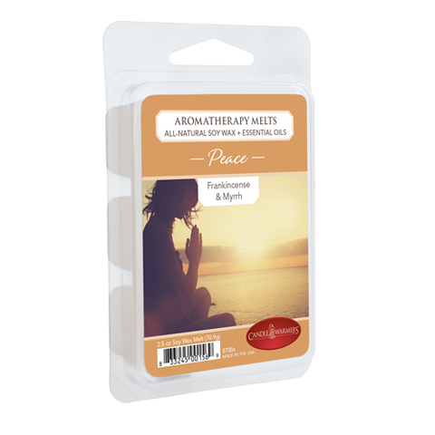 Aromatherapy Soy Wax Melts - Peace (Frankincense & Myrrh)