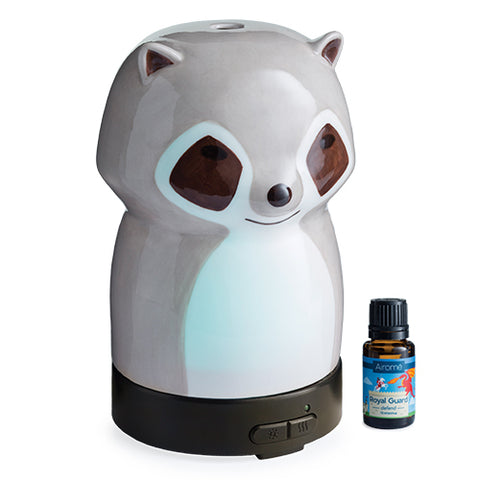 Essential Oil Kids Diffuser - Racoon