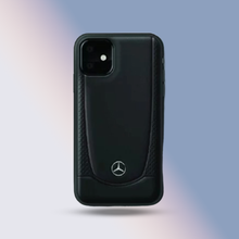 Load image into Gallery viewer, Mercedes Benz ® iPhone 11 Pro Genuine Leather Case