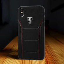 Load image into Gallery viewer, Ferrari ® iPhone X Genuine Leather Crafted Limited Edition Case