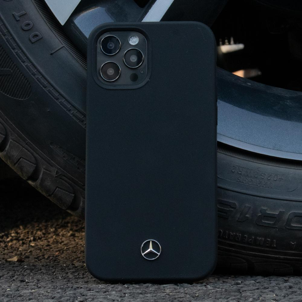 iPhone 12 Series Mercedes Benz Soft Silicone Case