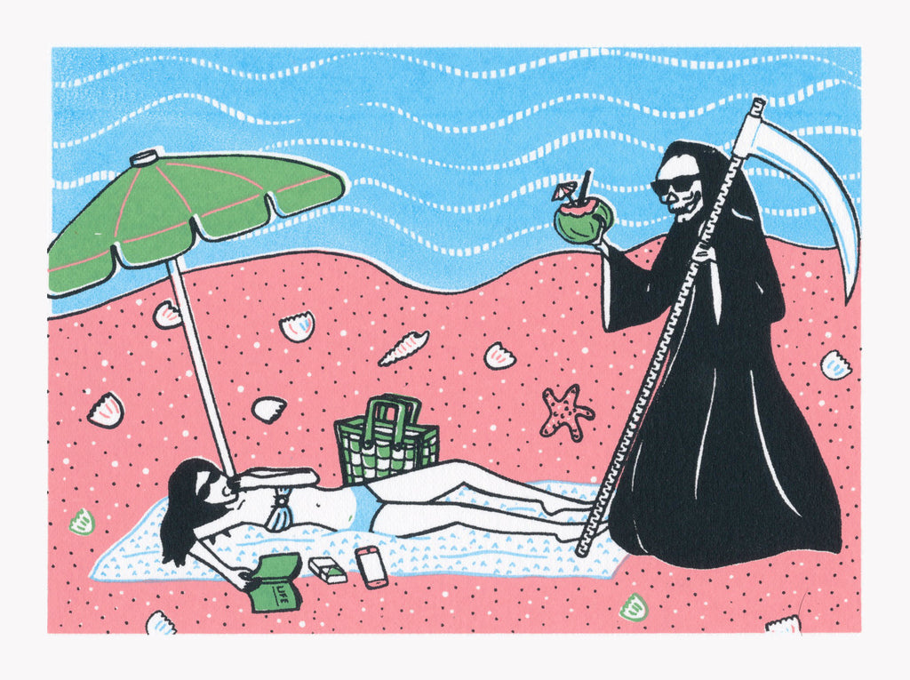 Holiday With Death by Ruby Uzi
