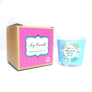 Gifts of Love Leave a Little Sparkle Candle Small