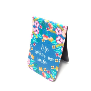Gifts of Love Life Makes Me Smile Magnetic Bookmark