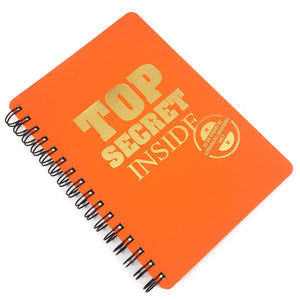Gifts of Love Foxt Notebook A5 Top Secret Inside
