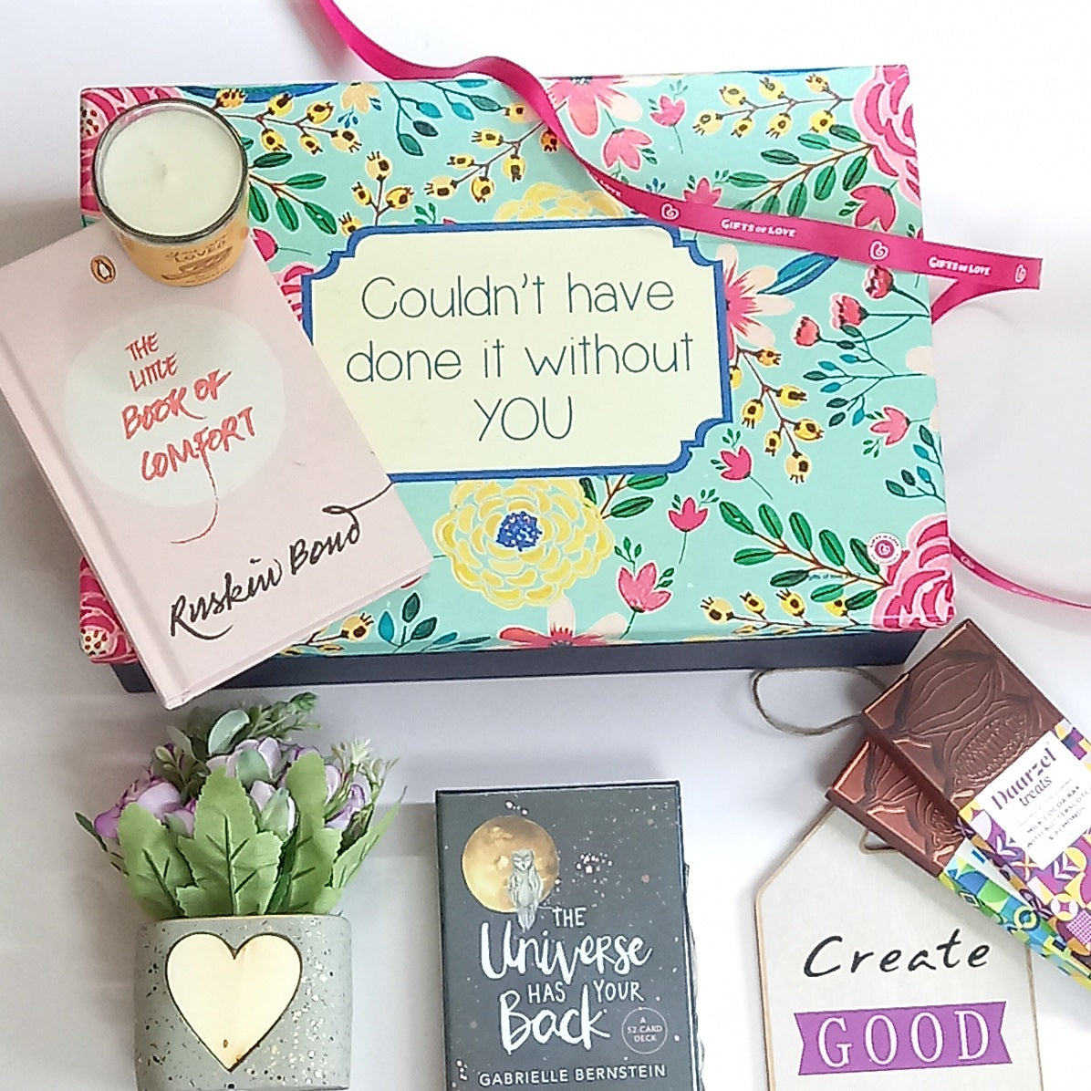 Comfort Boxed Gift Set | Couldn't Have Done it Without You