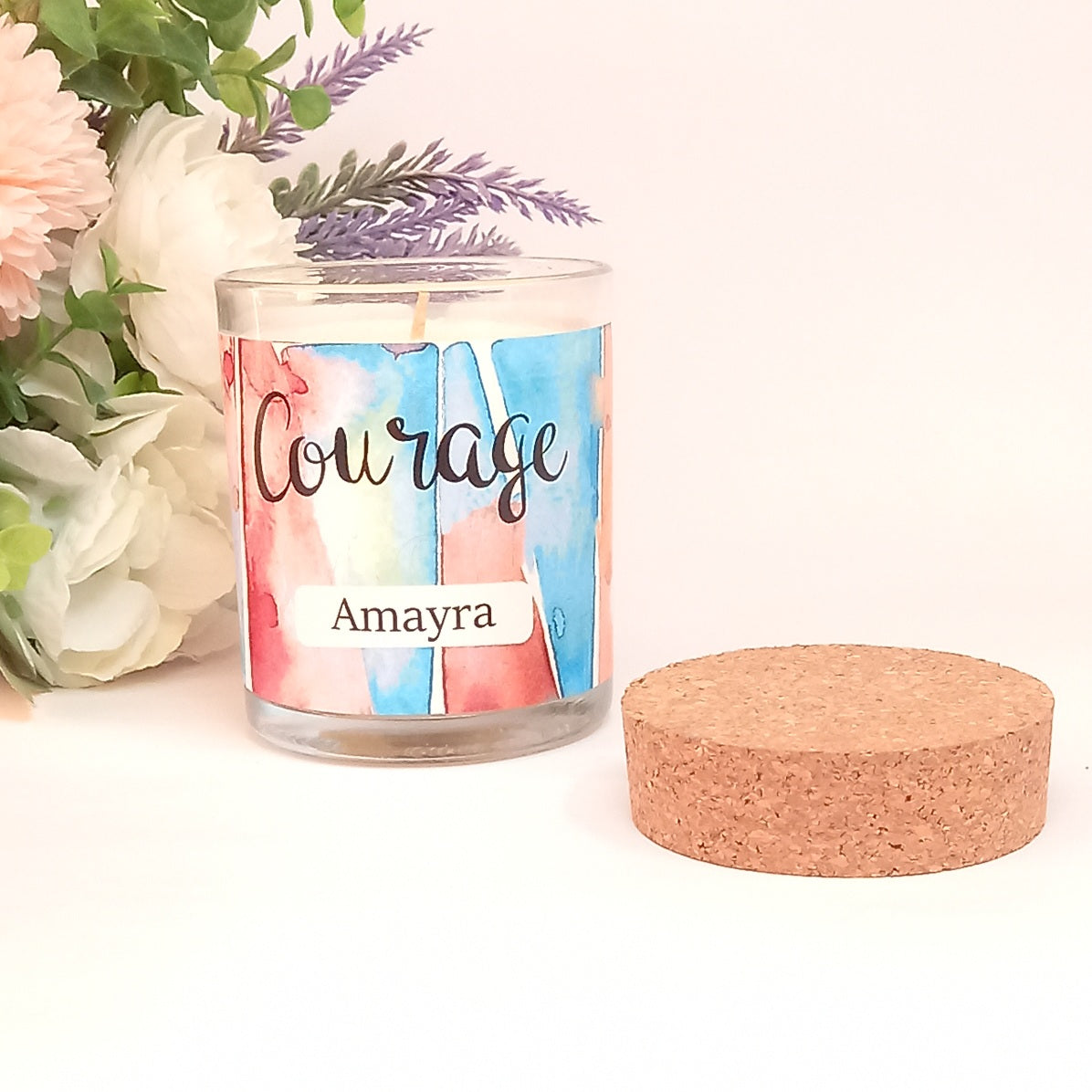 Courage | Inner Treasures Personalised Candle