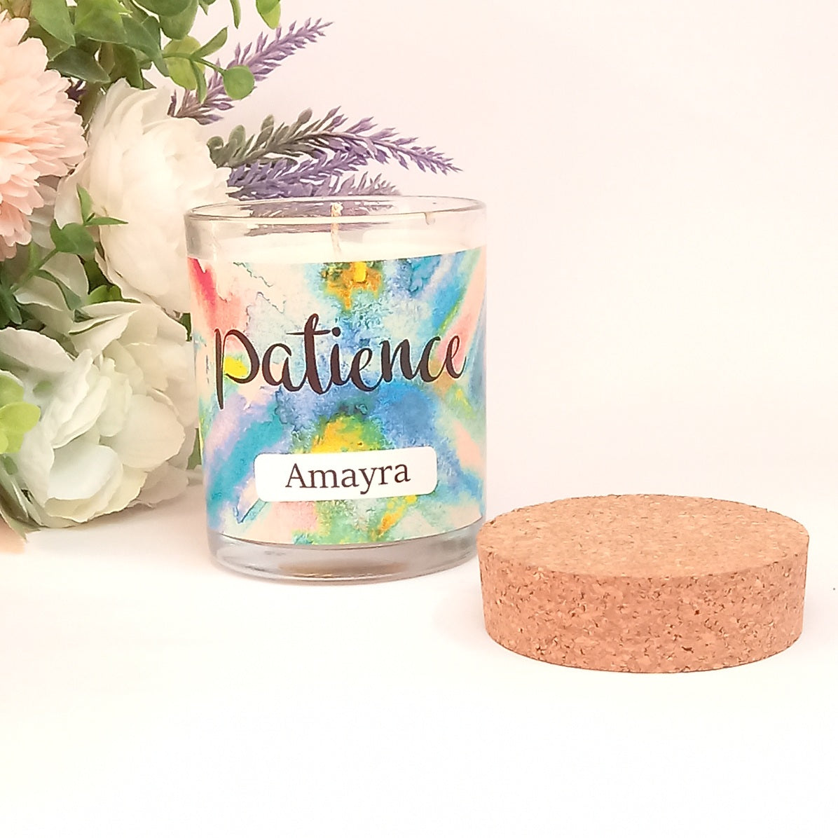 Patience | Inner Treasures Personalised Candle