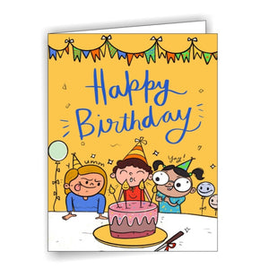 AC Happy Birthday - Greeting Card