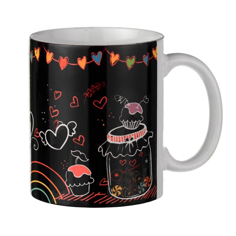 Gifts of Love Coffee Mug A Jar Full of Joy Chalk Art