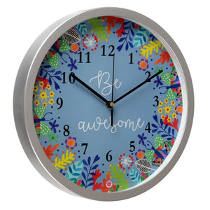 Be Awesome - Rosetta Wall Clock