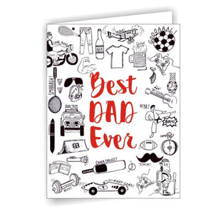 Gifts of Love Greeting Card Best Dad Ever