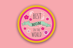 Best Mom in the World - Akira Magnet