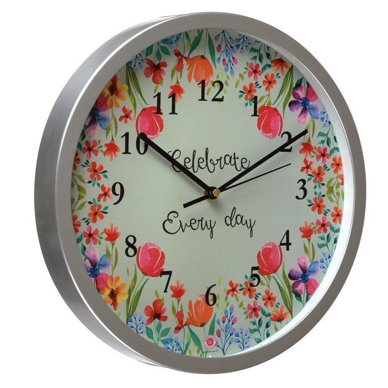 Celebrate Every Day - Rosetta Wall Clock