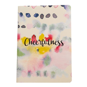 Cheerfulness - Inner Treasures A5 Soft Cover Notebook