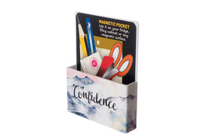Confidence - Inner Treasures Magnetic Pen Stand