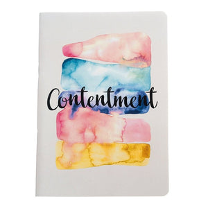 Contentment - Inner Treasures A5 Soft Cover Notebook