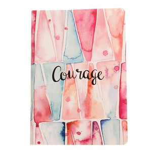 Courage - Inner Treasures A5 Soft Cover Notebook