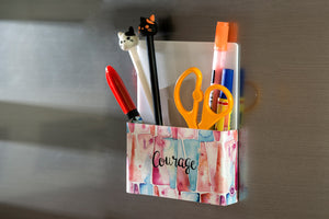 Courage - Inner Treasures  Magnetic Pen Stand