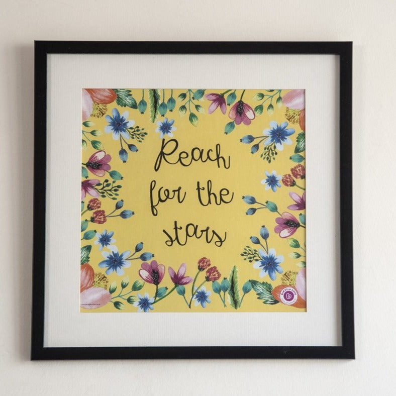 Wall Art Rosetta - Reach for the stars - Gifts of Love