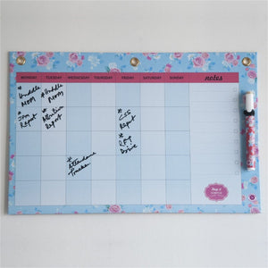 Dry Erase Board Big - Esther Rose Month Planner