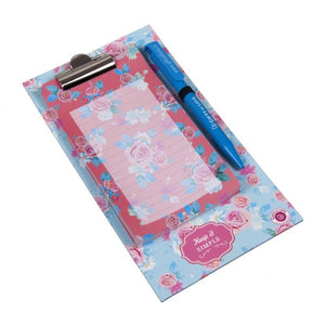 Magnetic Clipboard with Pen - Esther Rose