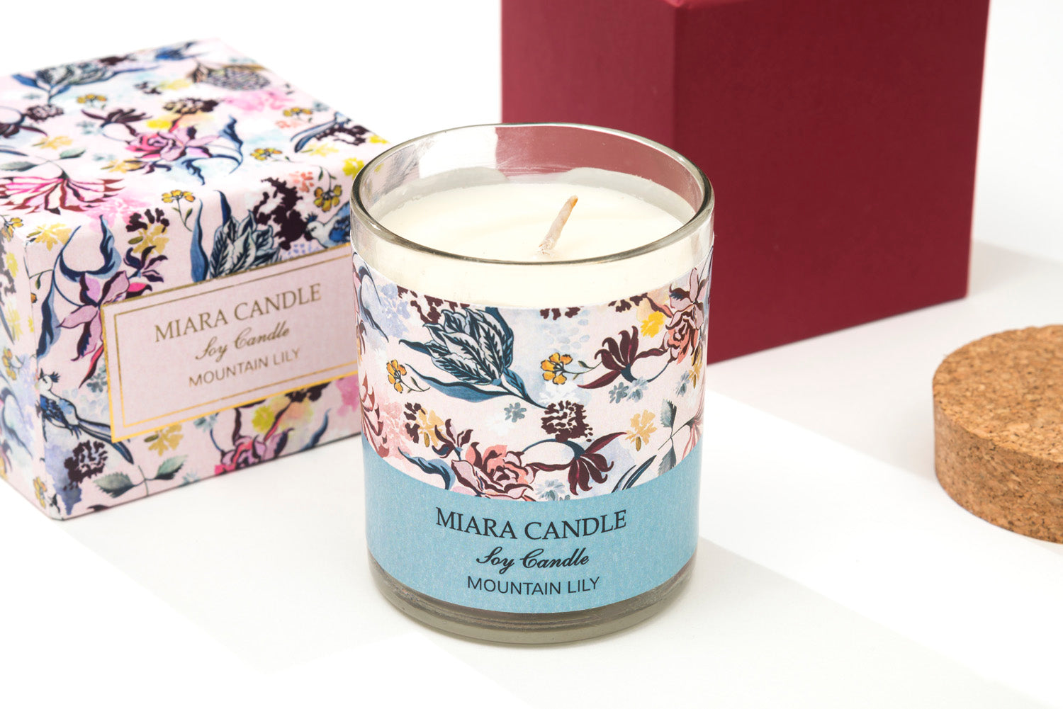 Gifts of Love Miara Candle Classic 3x3 Mountain Lily