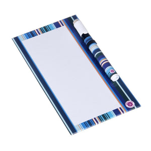 Dry Erase Board Small - Blue Stripe