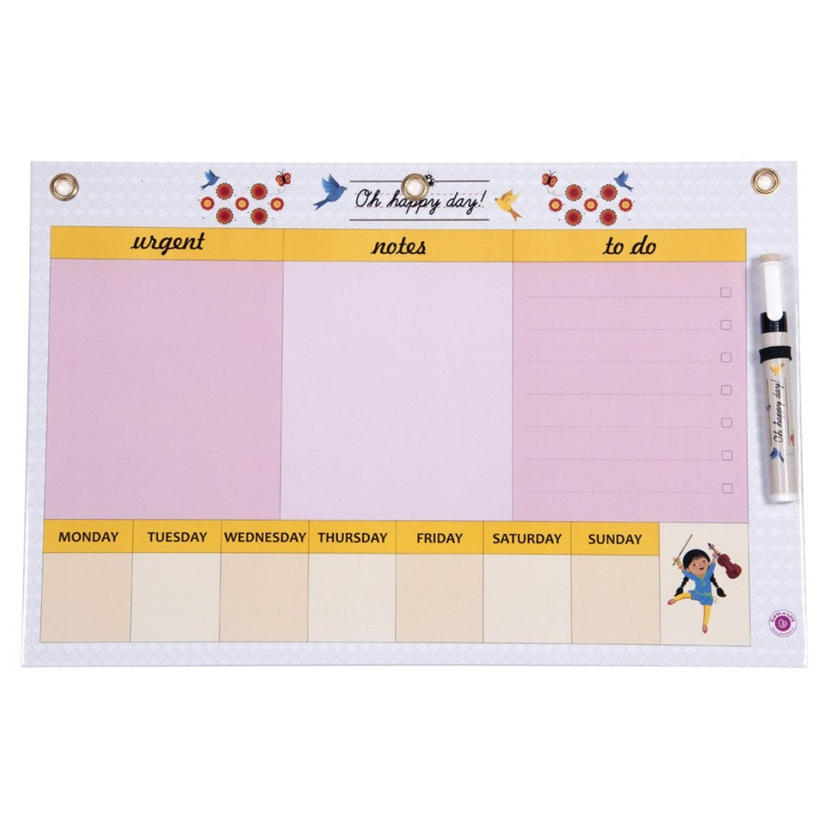 Dry Erase Board Big - Oh Happy Day Handy Planner