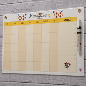 Dry Erase Board Big - Oh Happy Day Month Planner