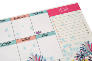 Indian Savannah Weekly Planner A6 Notepad