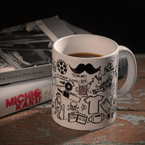 Gifts of Love - Mug - Black and White
