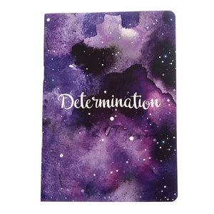 Determination - Inner Treasures A5 Soft Cover Notebook