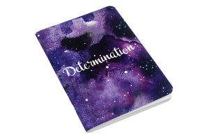 Determination - Inner Treasures A6 Soft Cover Notebook