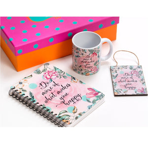 Do More of What Makes you Happy - Gift Set