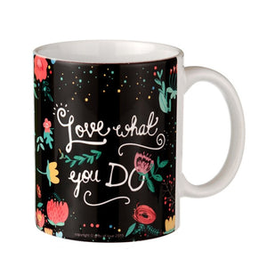 Do What You Love -  Chalk Art Coffee Mug