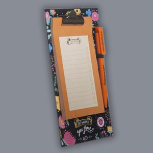Do what you Love - Magnetic Clipboard with Pen