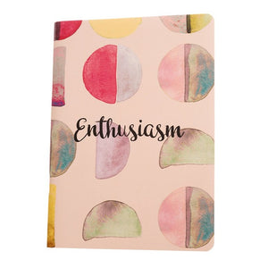 Enthusiasm - Inner Treasures A5 Soft Cover Notebook