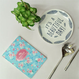 Esther Rose - Soft Cover Recipe Journal/Notebook