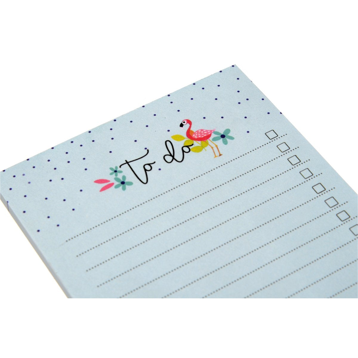 Flamingo To Do - A6 Notepad