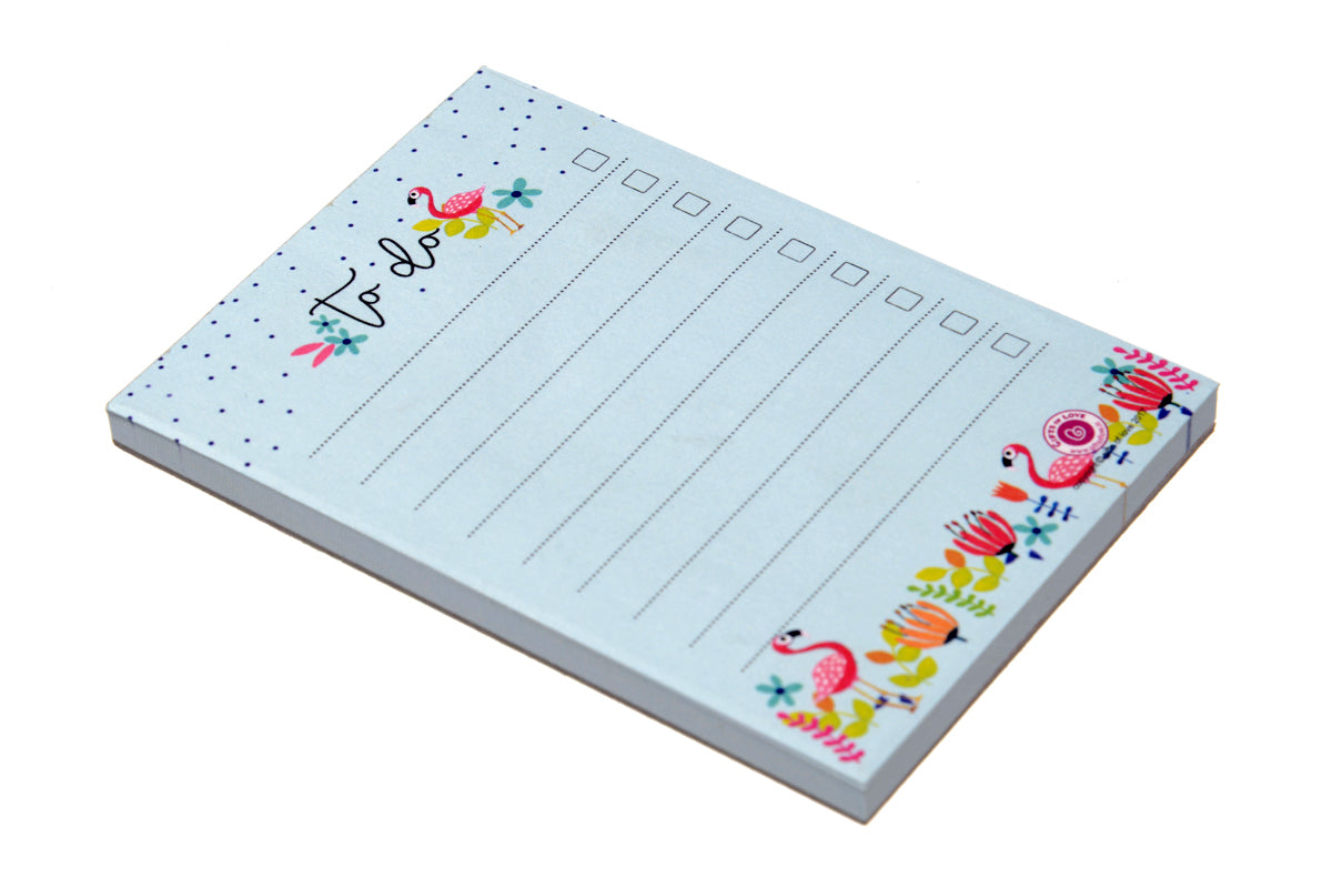 Flamingo To Do - A7 Notepad