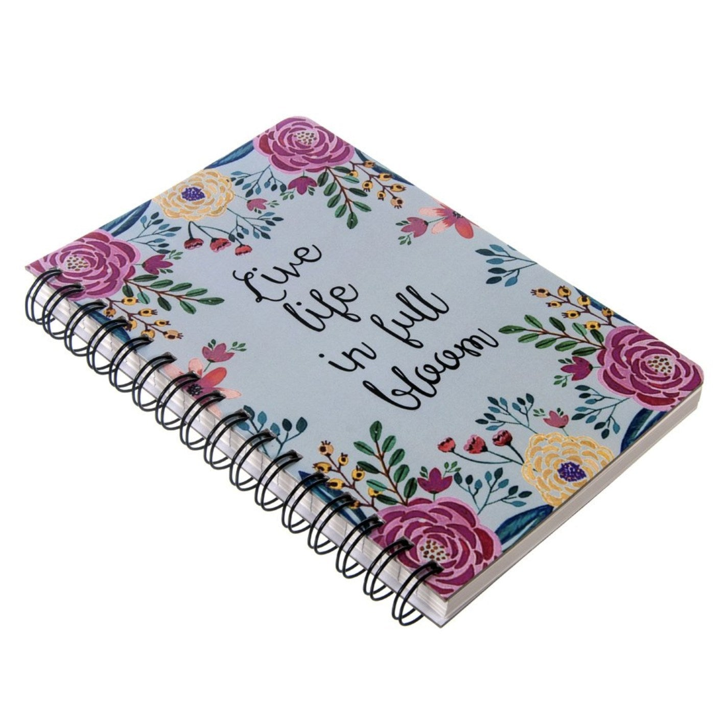Gifts of Love Viva Notebook A5 - Live life in Full Bloom