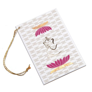 Ganesh - Set of 3 Gift Tags