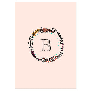 Gifts of Love Notebook Monogram Initial B Laila